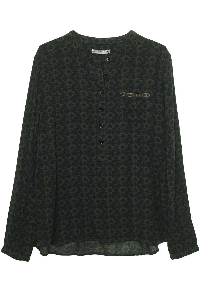 Ash Blouse Dark Army