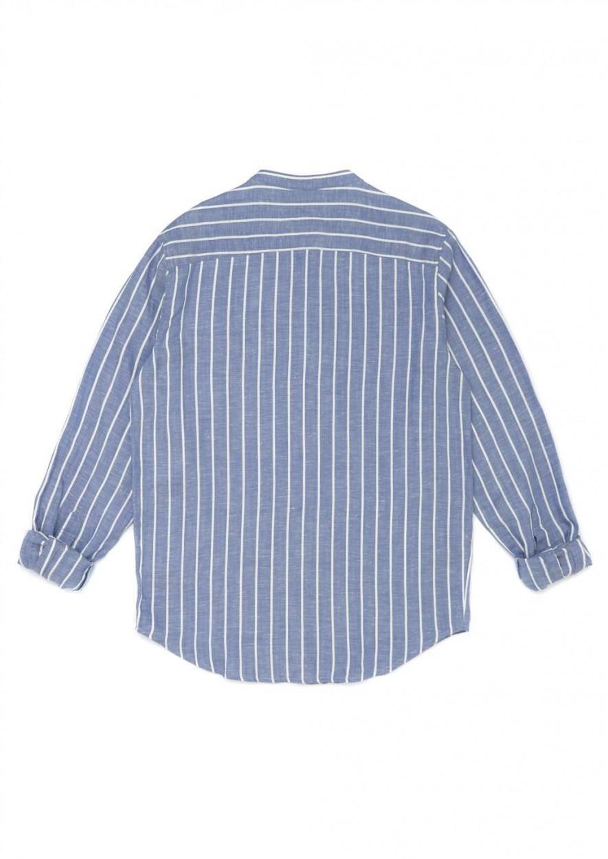 Julian Shirt Wave Blue