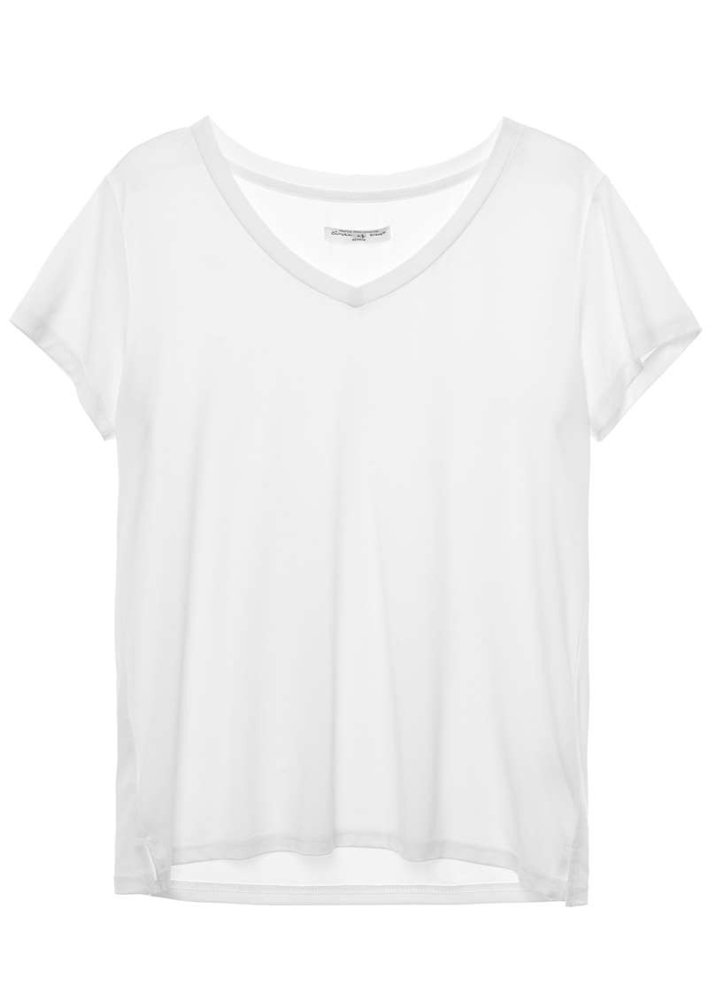 Monica Tee Star White