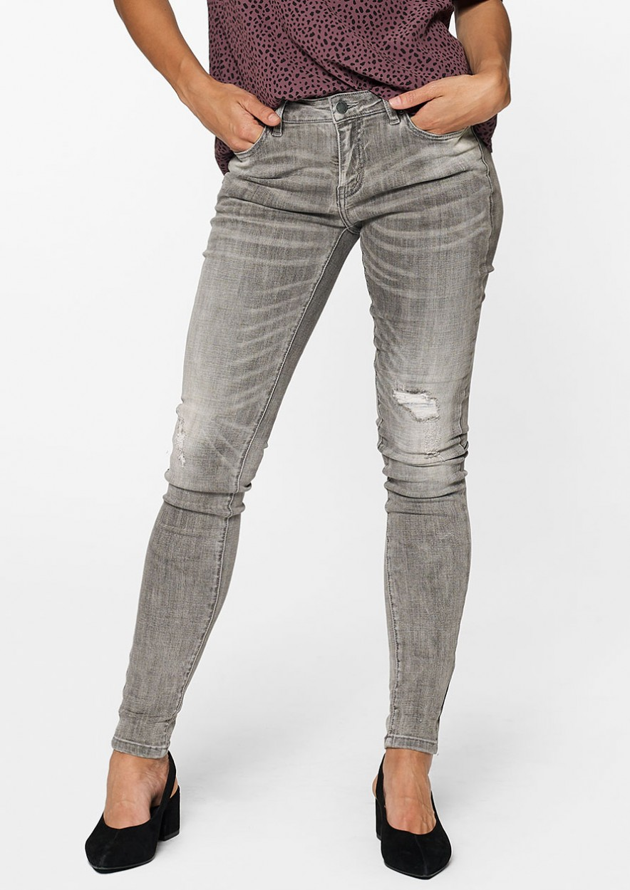 Poppy Denim Thunder Stone