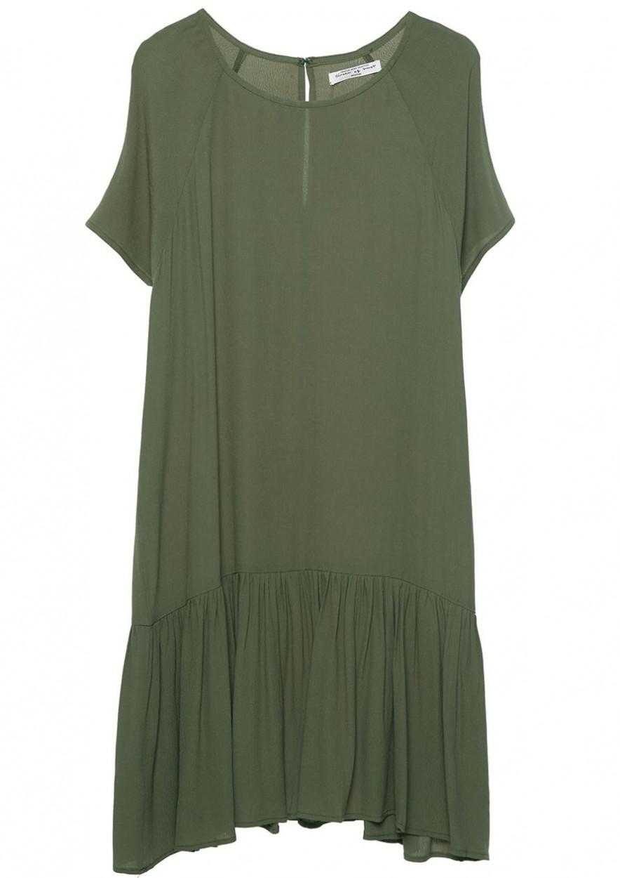 Vanity Dress Vintage Leaf