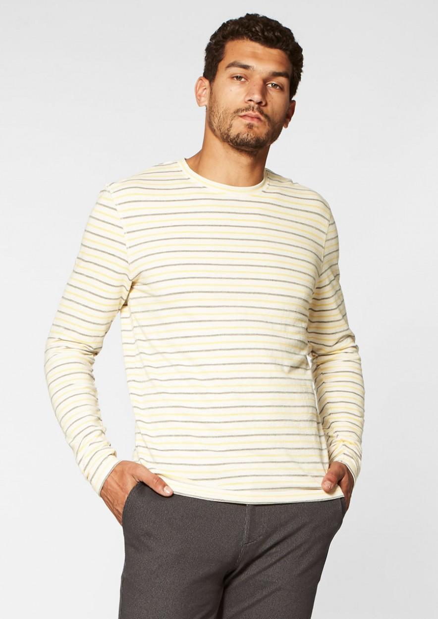 Tanner Longsleeve Yellow stripes