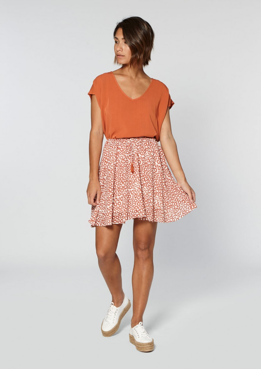 Maja Skirt Odd Orange