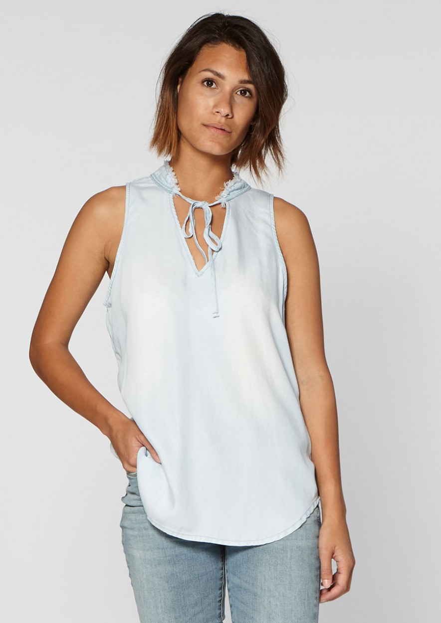 Sil Top Stylish Blue
