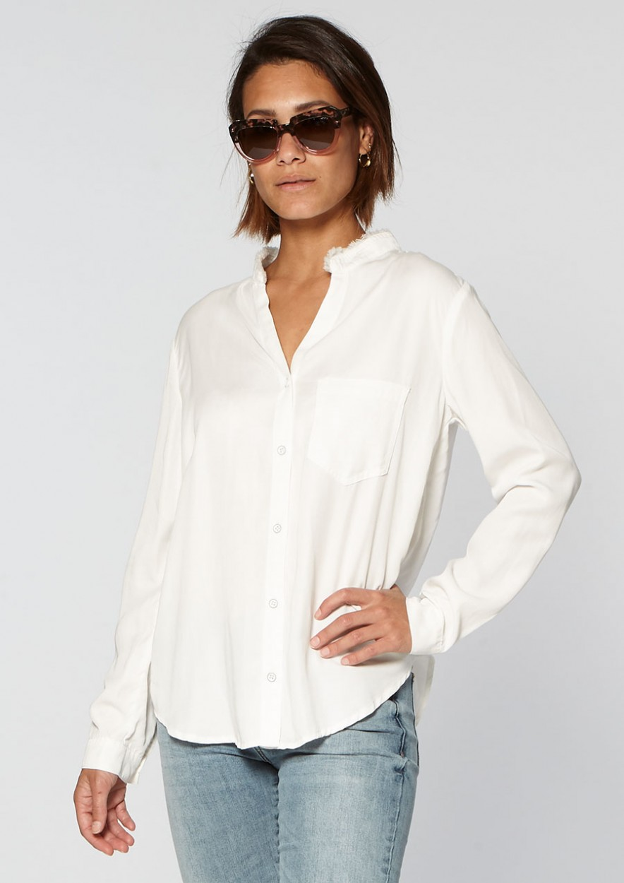 Lina Blouse White Dust