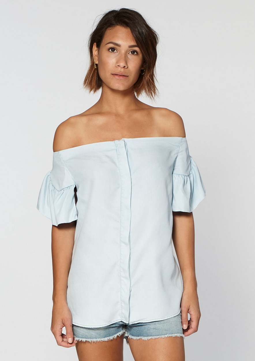 Adena Top Stylish Blue
