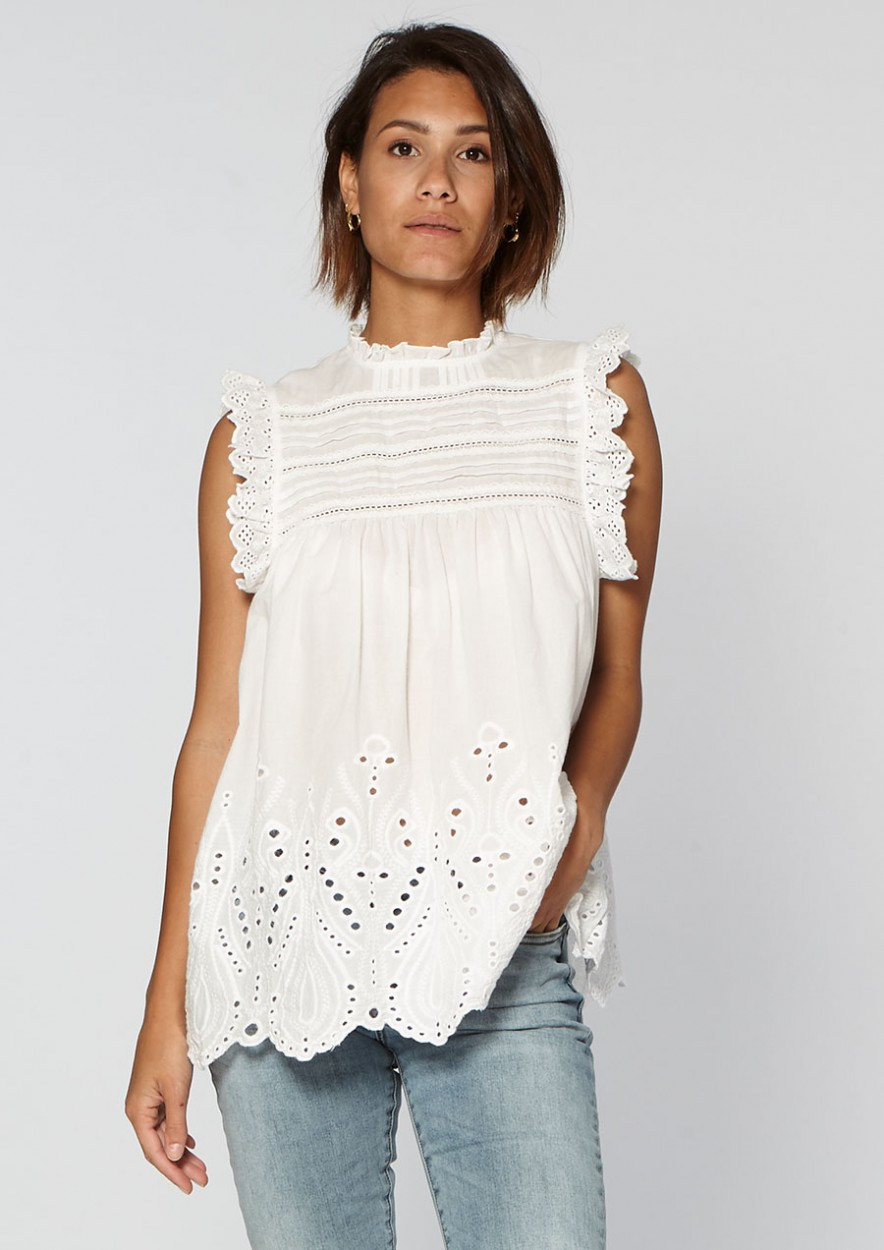 Elli Top White Bleached
