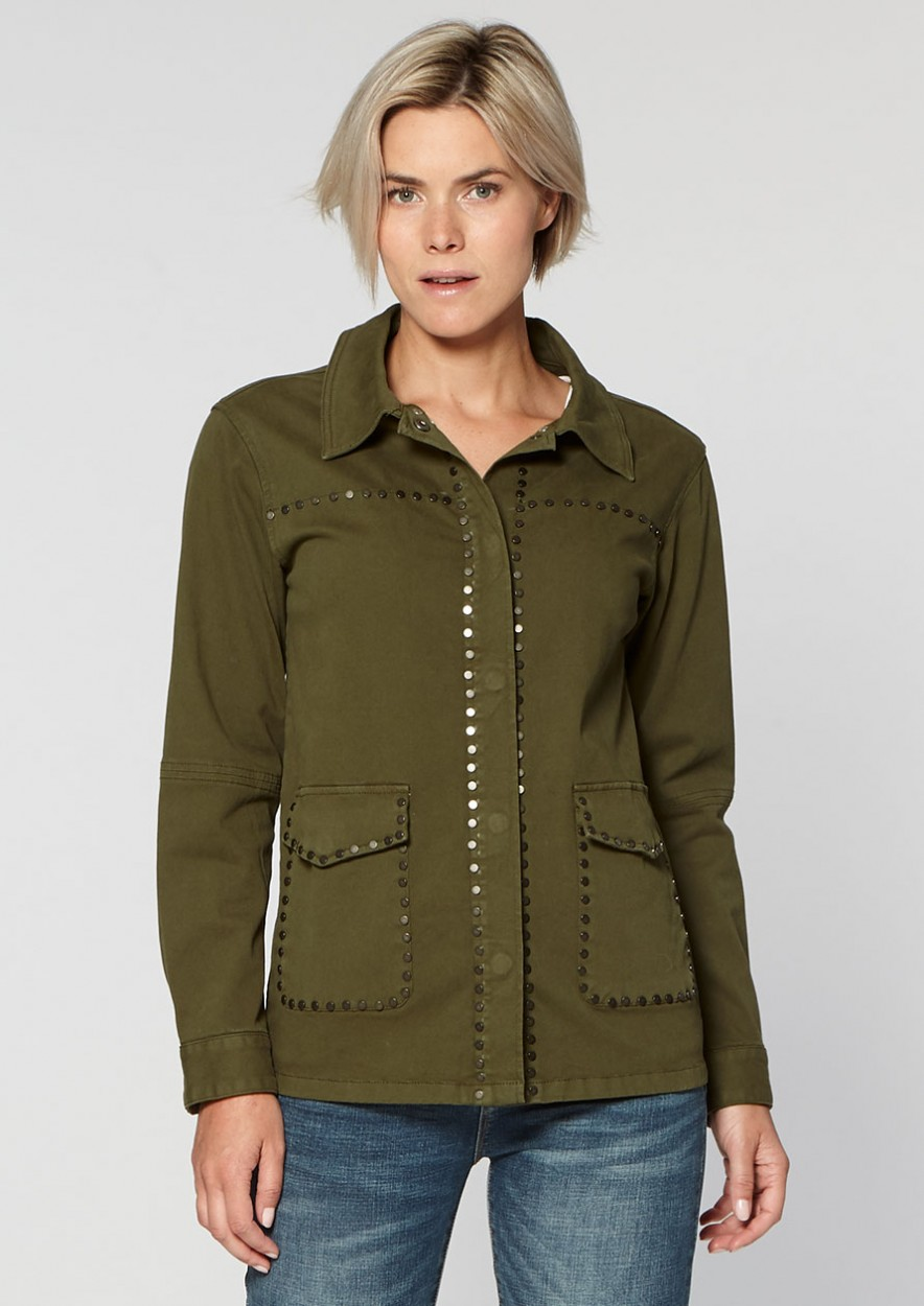 Abbey Jacket Dark Olive
