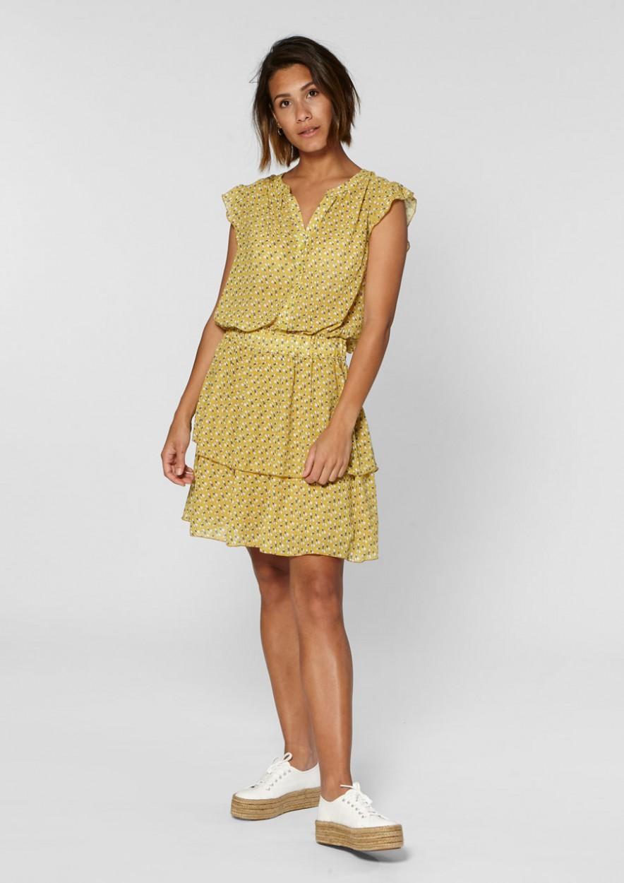 Gaby Dress Sun Dark