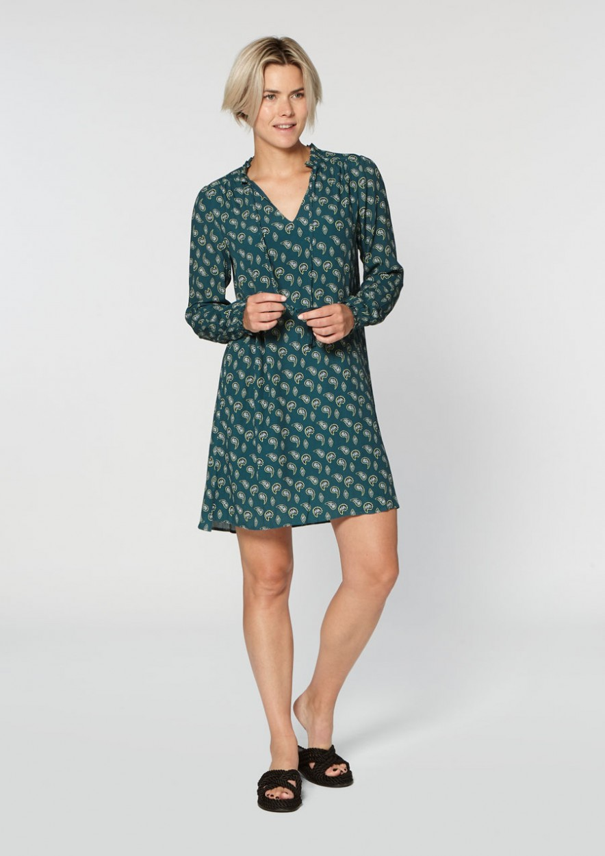 Alexa Dress Paisley Print