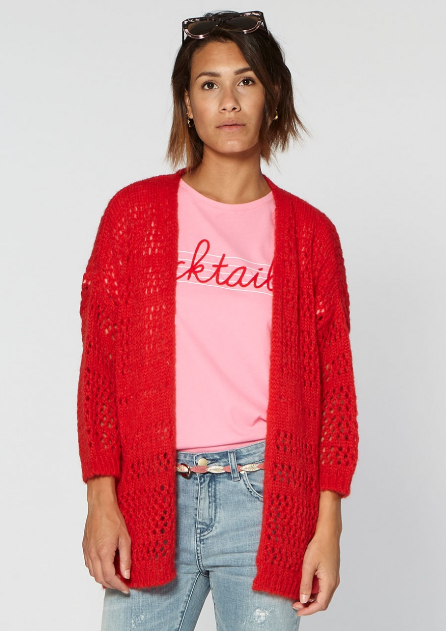 Linny Knit Red rules