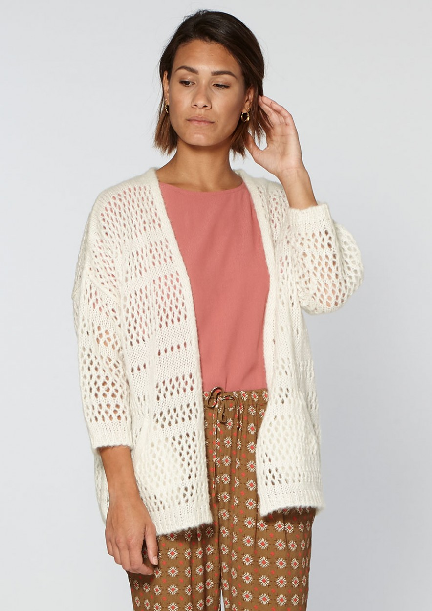 Linny Knit White Dust