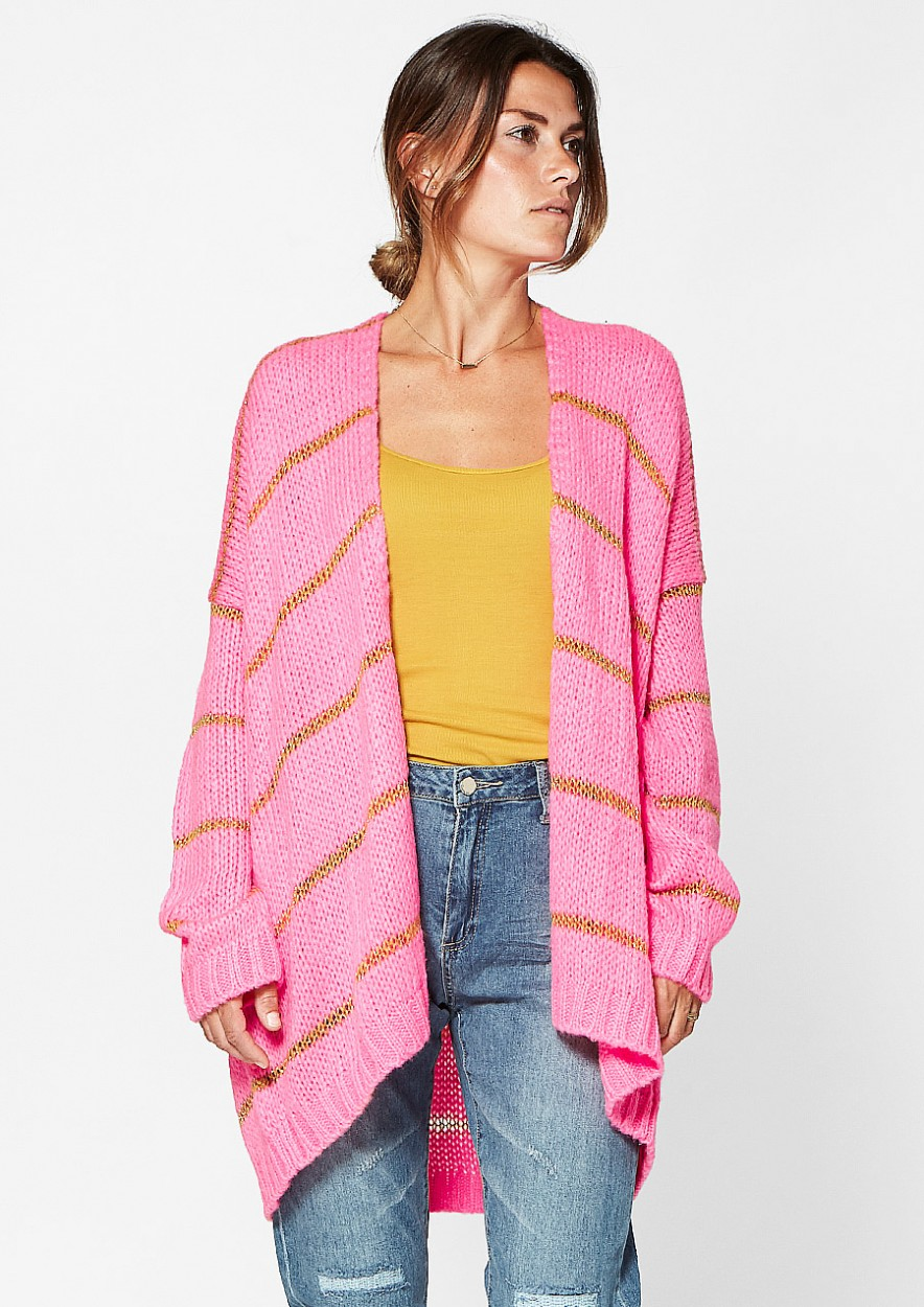 Jamie Cardigan Pink Please