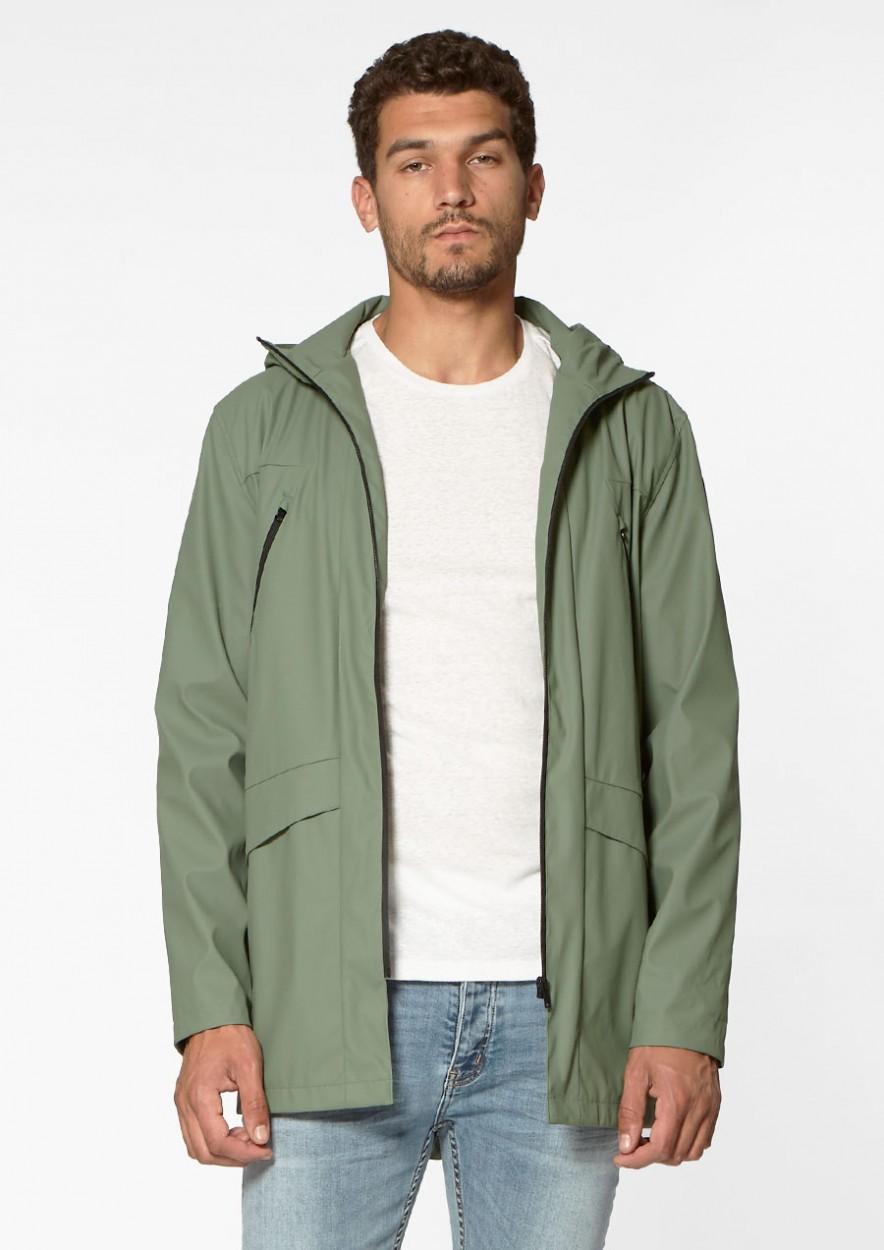 August Raincoat Moody Moss