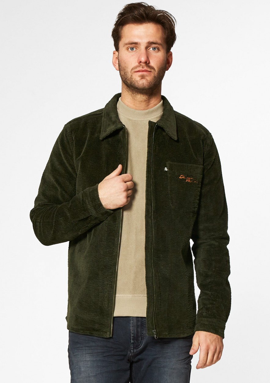 Theodor corduroy overhemd - groen