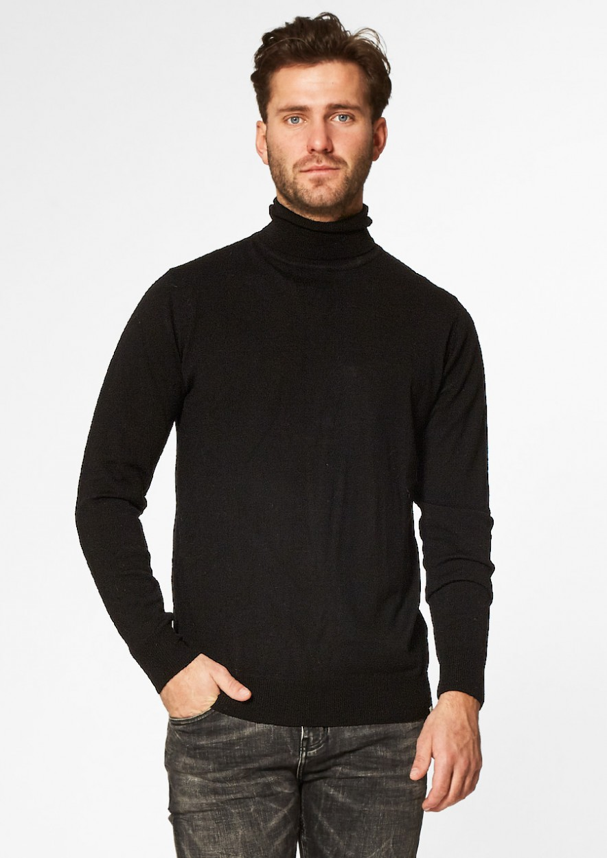 Steward Knit Blame Black
