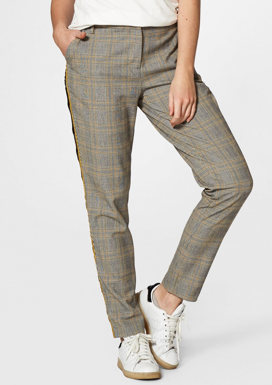 AGGY GERUITE BROEK TAPERED FIT
