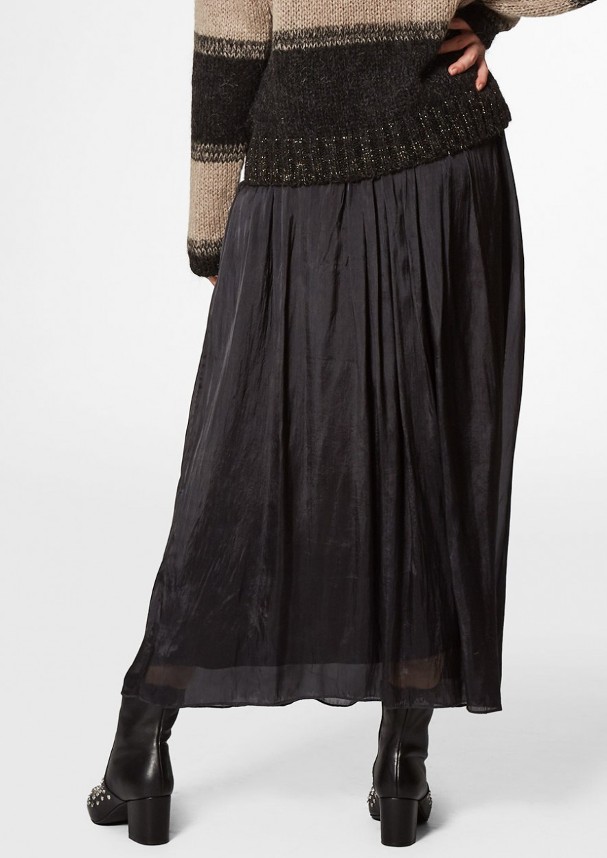 Abbie Skirt Dark Asphalt