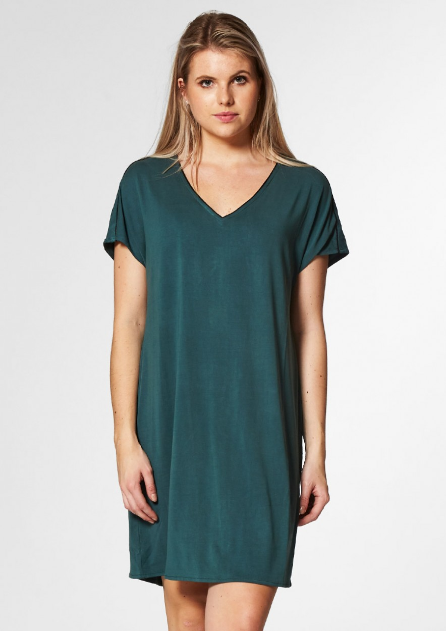 Juda Dress Faded Sea