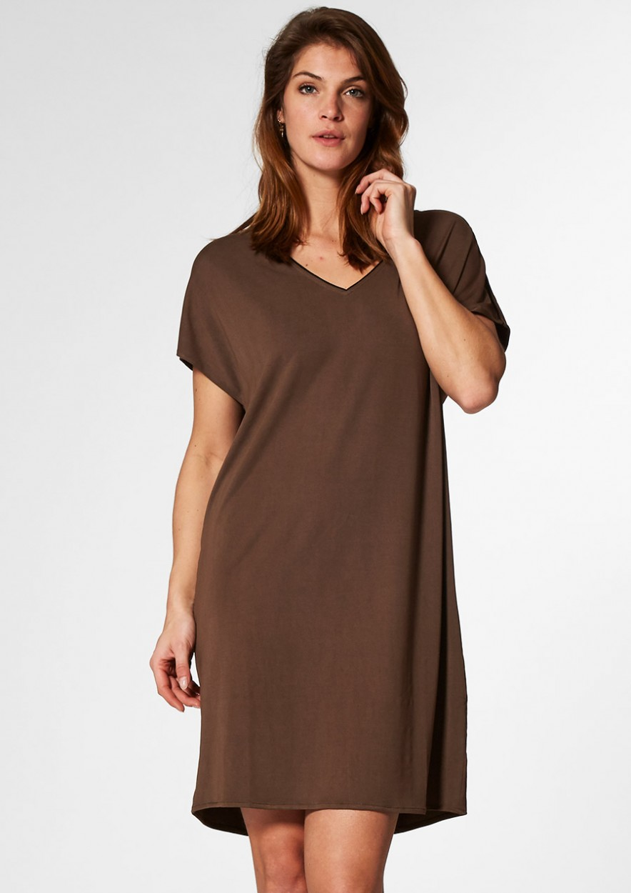 Juda Dress Raw Umber