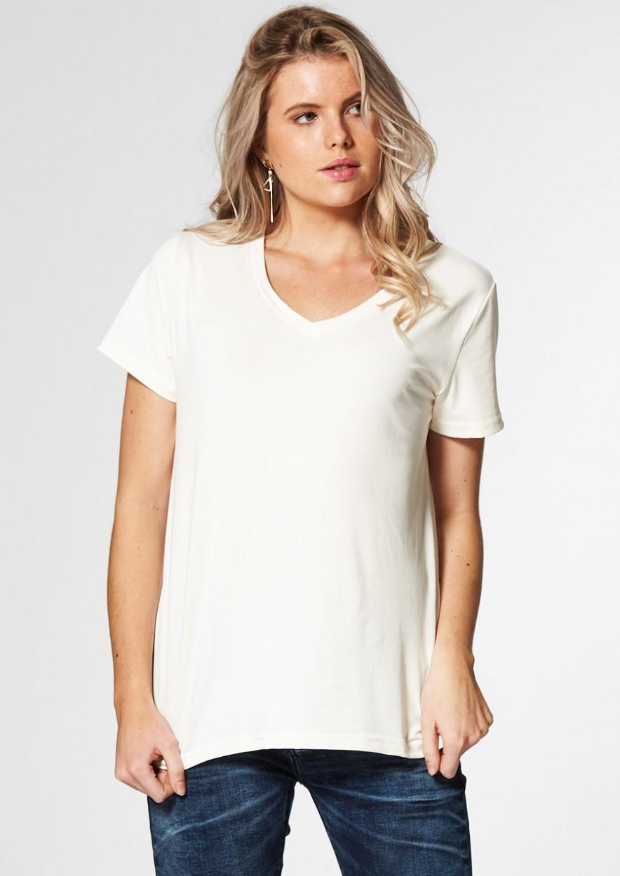 Monica Shirt Gebroken Wit