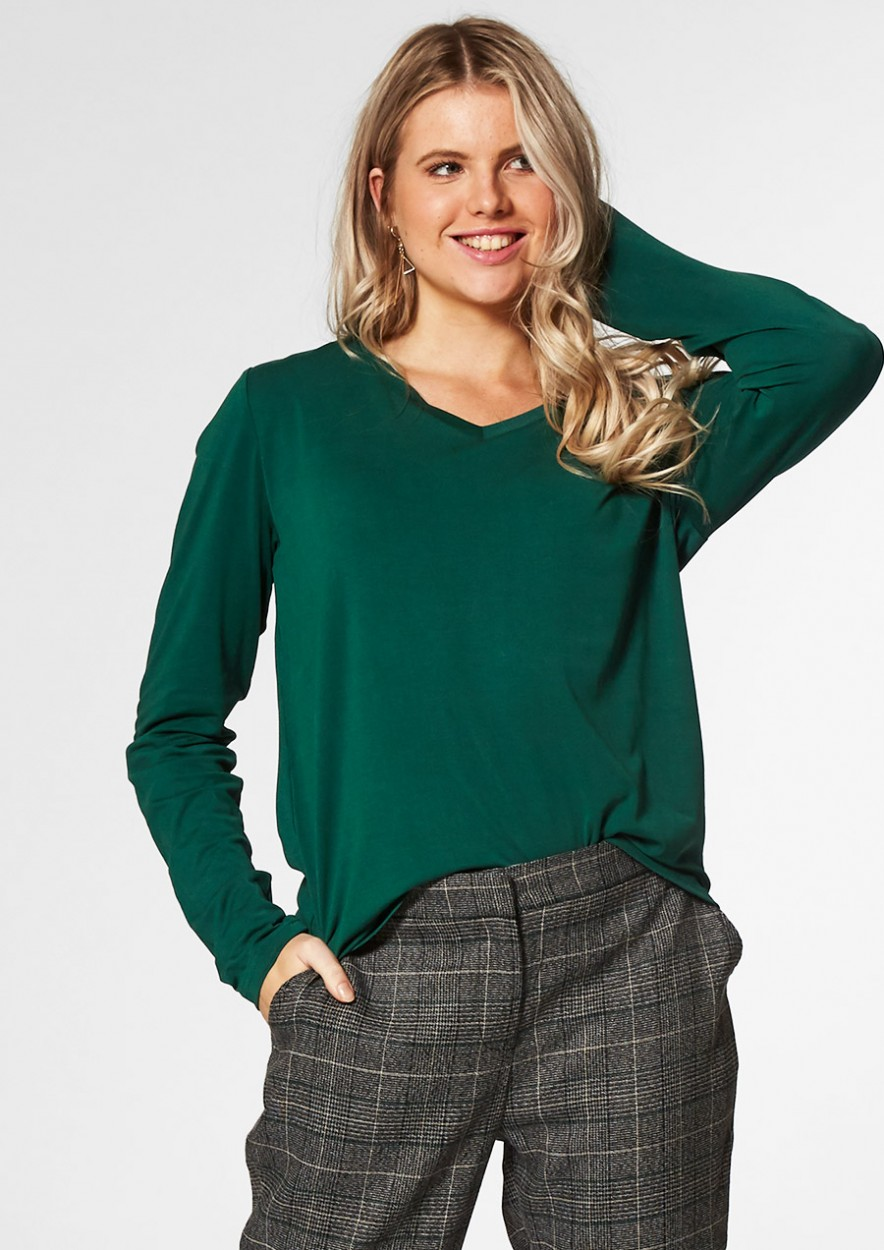 MONICA LONGSLEEVE Emerald Green