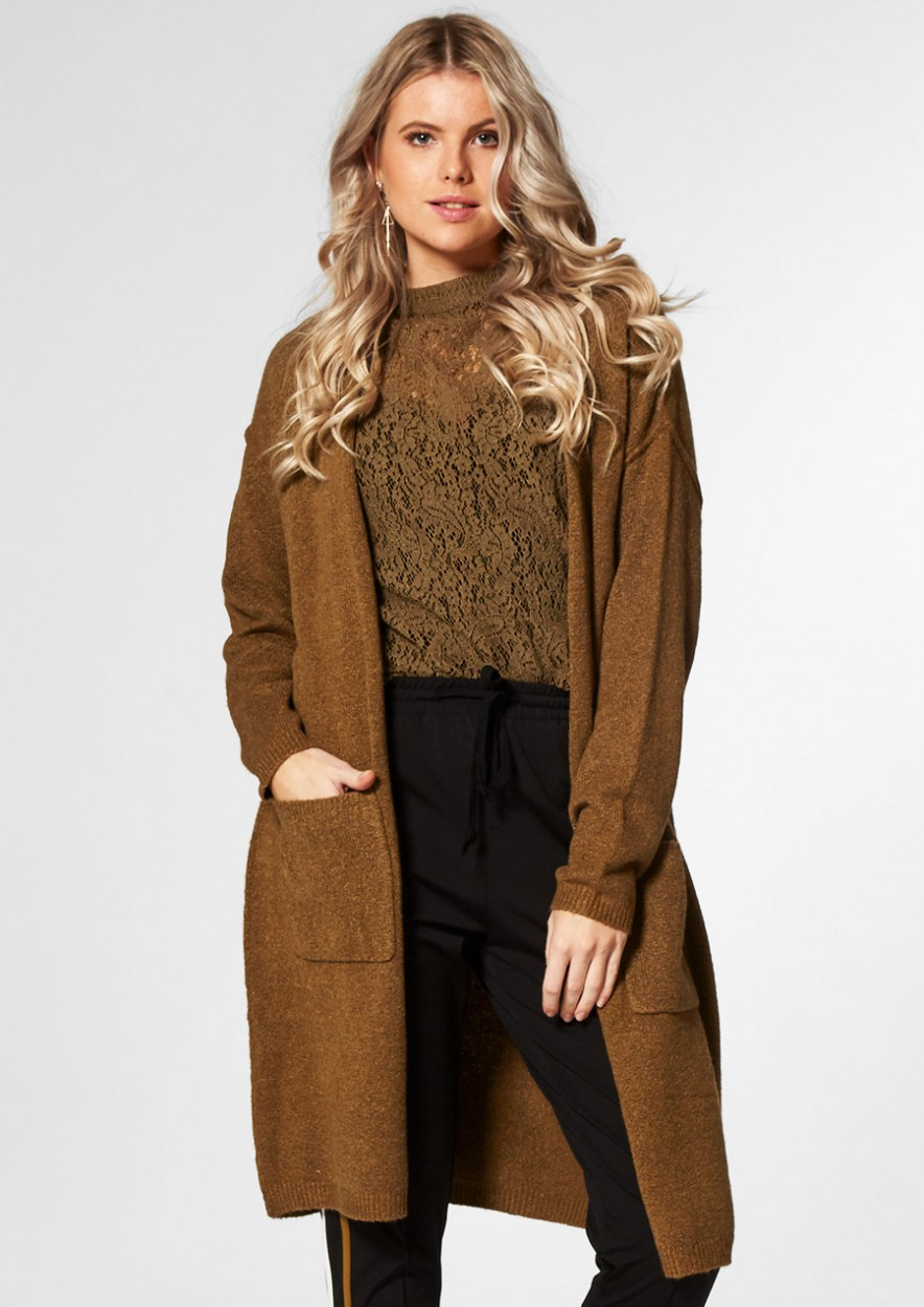 Nowy Cardigan Dark Leaf