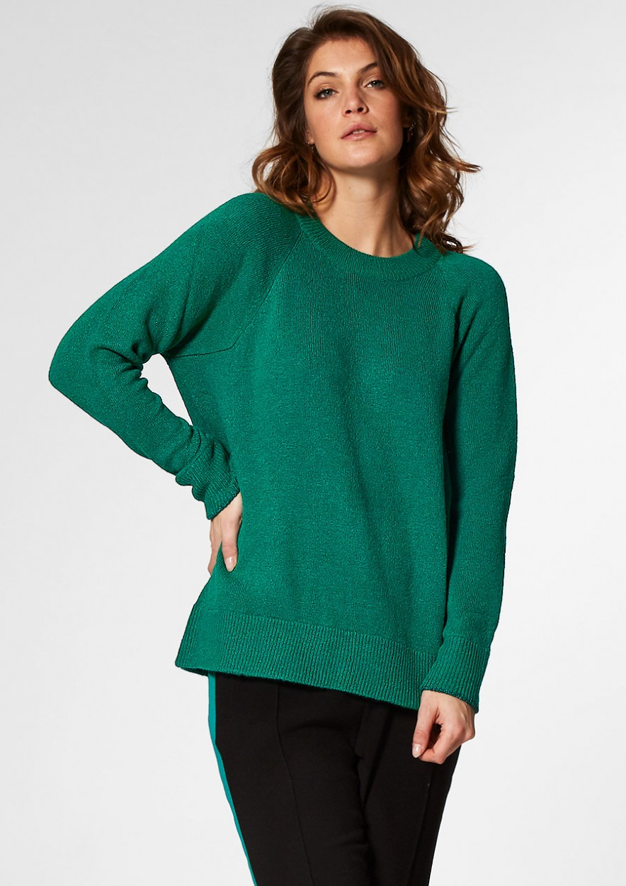 PHOEBE Knit Green Edge