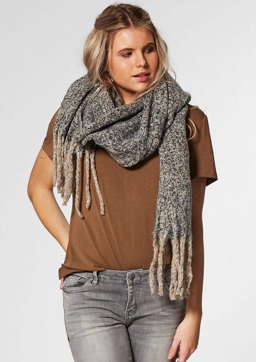 Tess Vintage Gemêleerde Sjaal