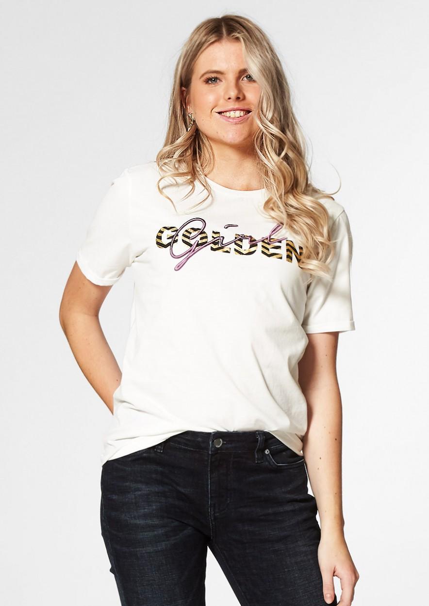 Magic T-Shirt Golden Girl