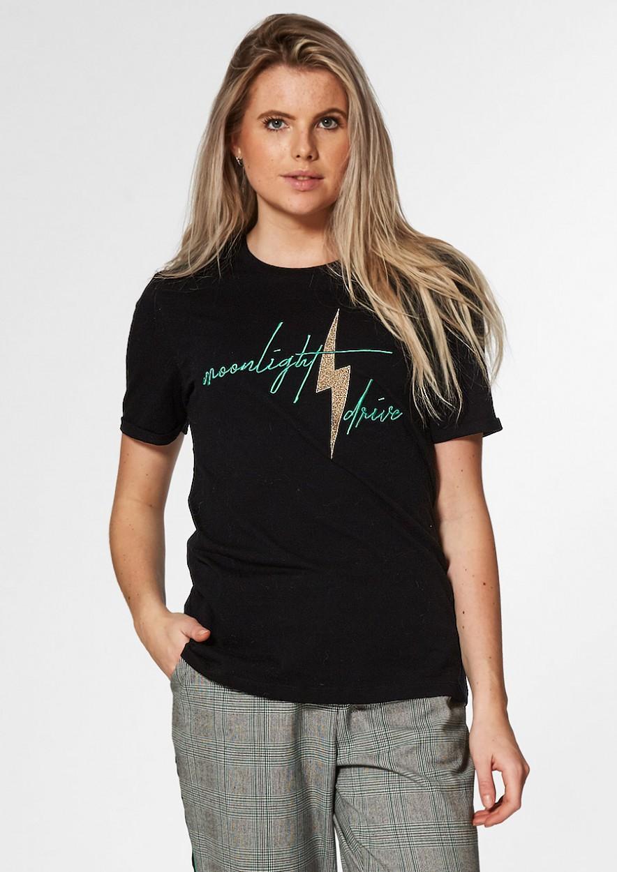 MAGIC T-Shirt Zwart Moonlight Drive