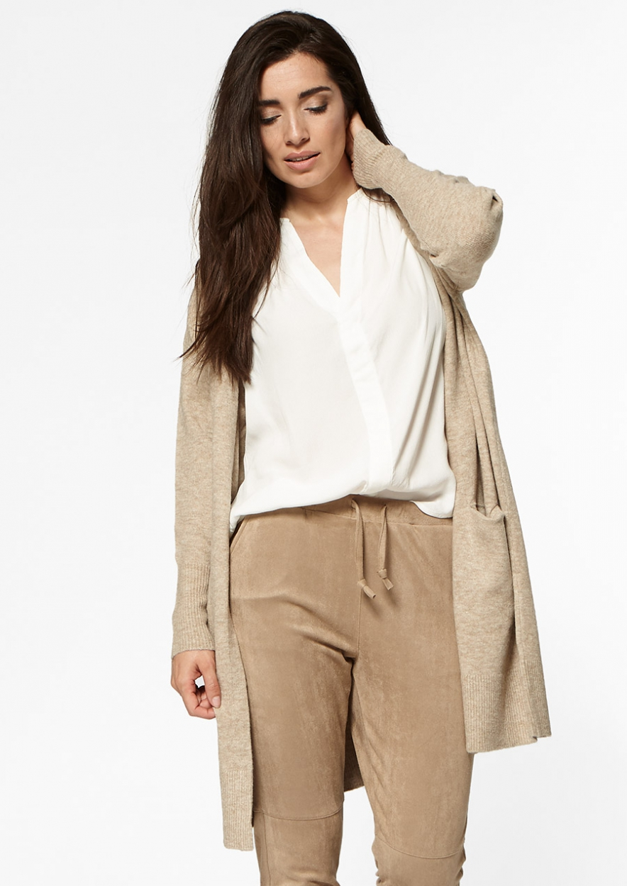 Marla beige cargo pants voor dames | Circle Of Trust