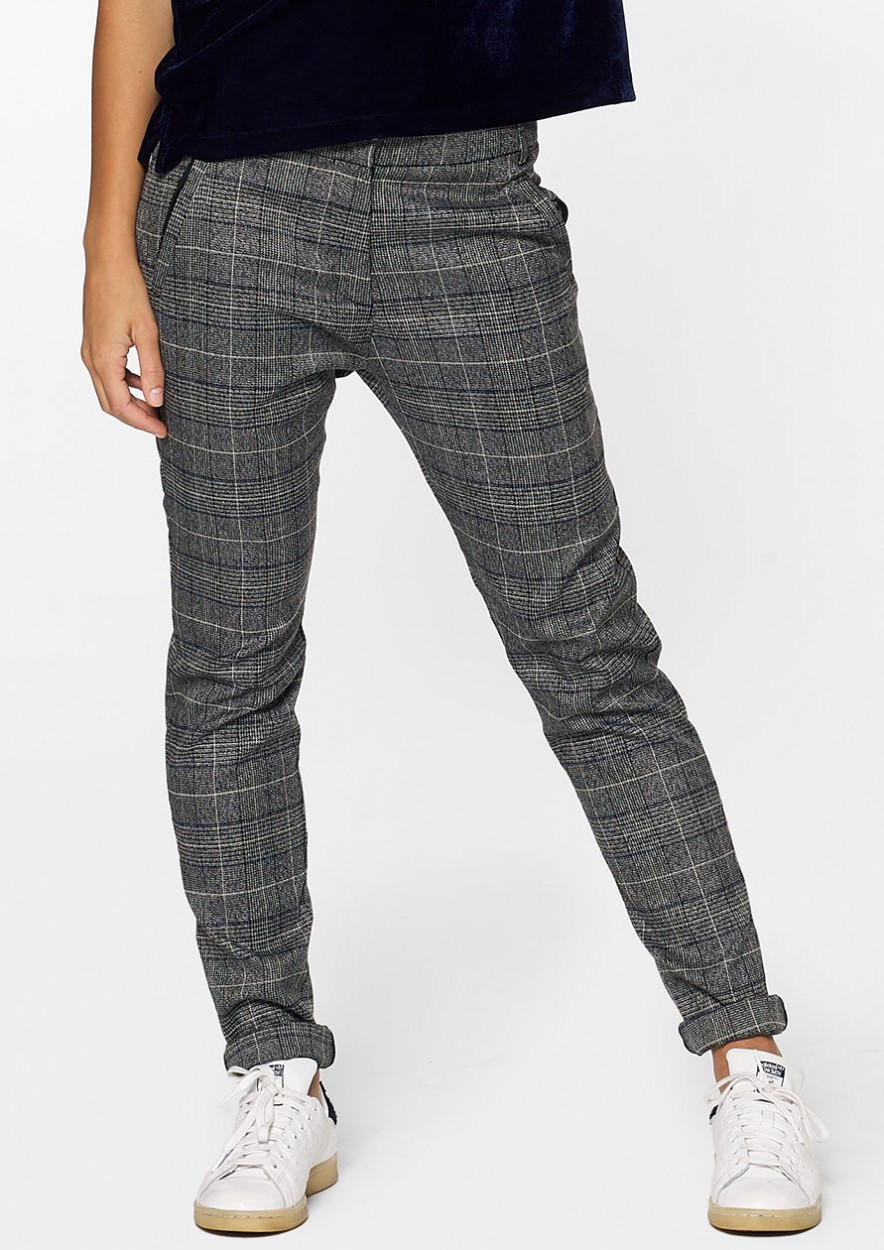 Aggy Pants Grey Melange