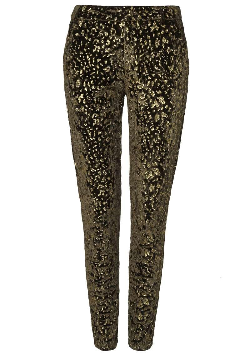Kae Velvet Pants Leopard