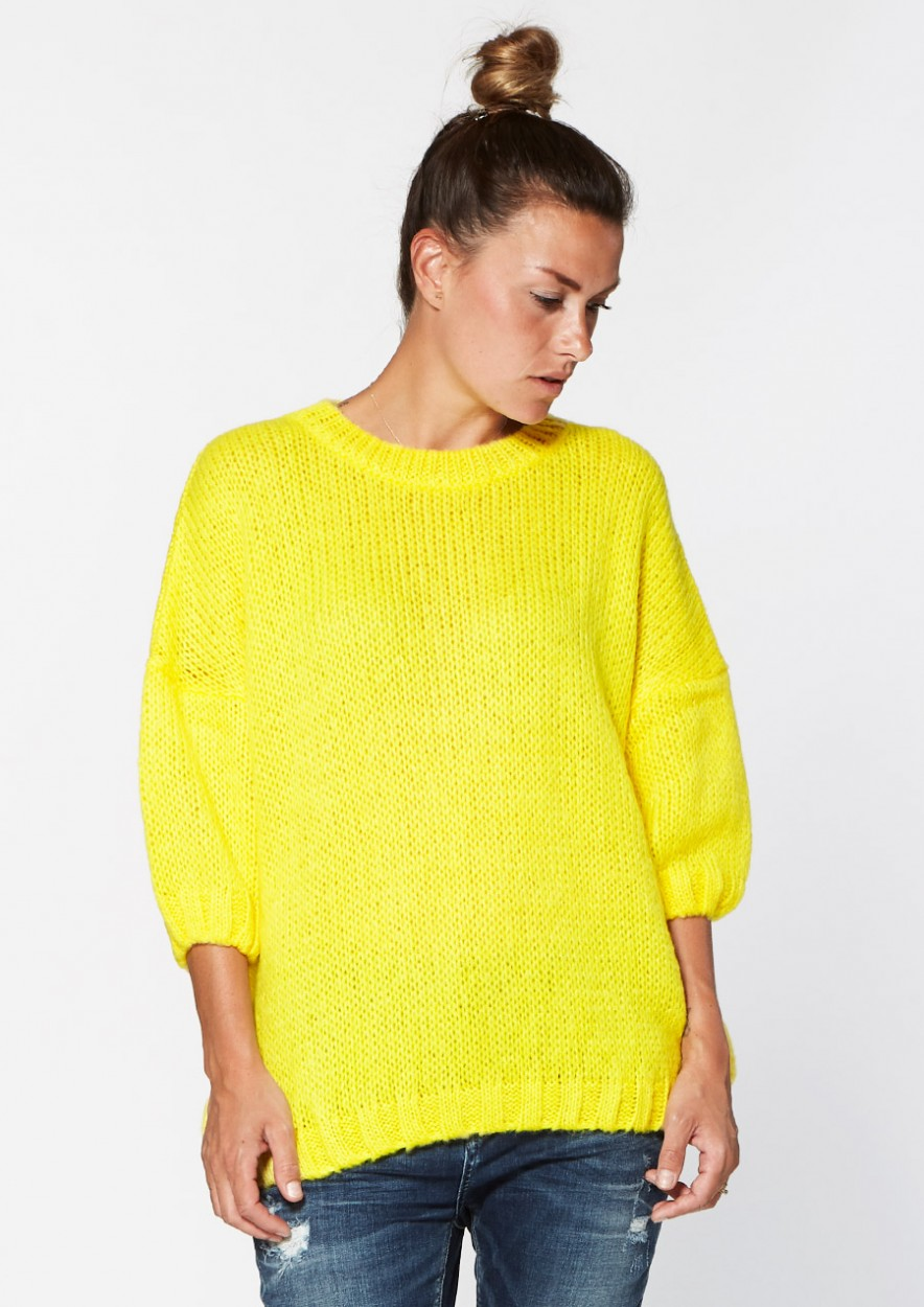 Jessie Knit Fresh Lemon