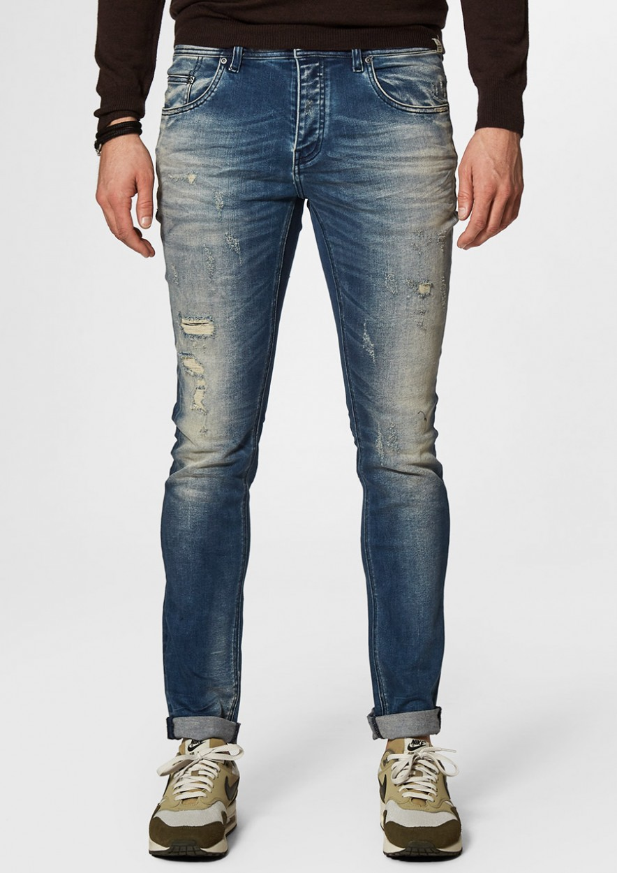 Jagger oil stormy - skinny fit