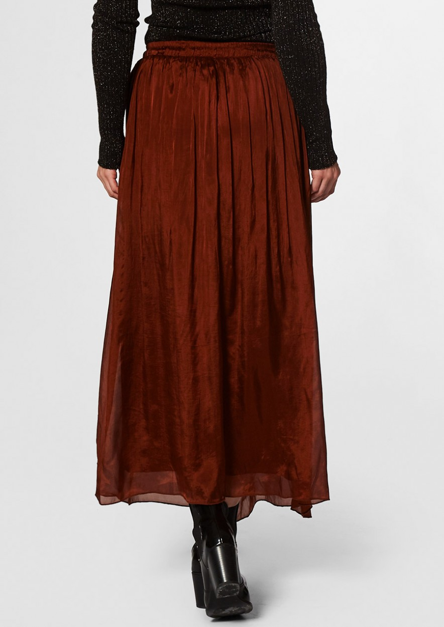 ABBIE SKIRT Rusty brown