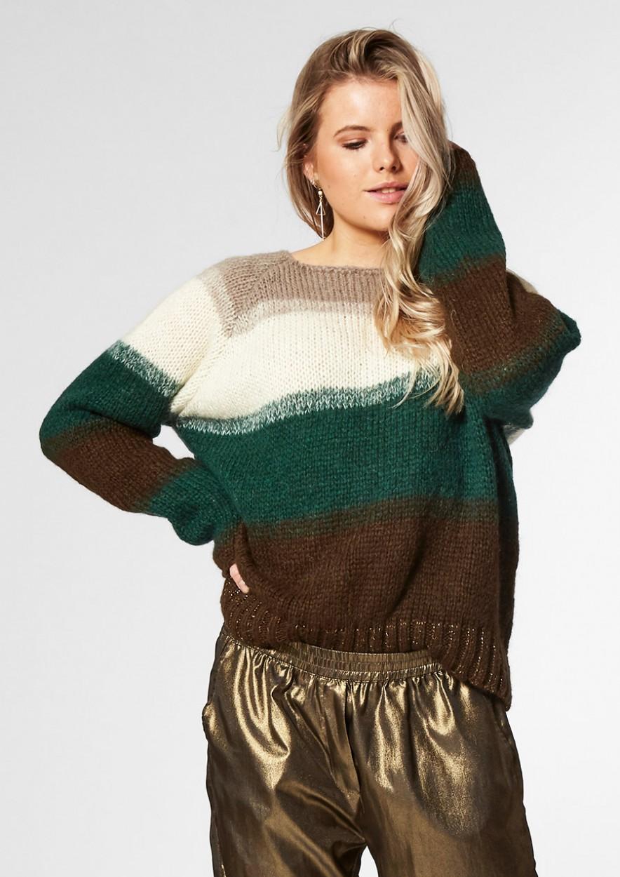 OPIUM Knit Green Edge