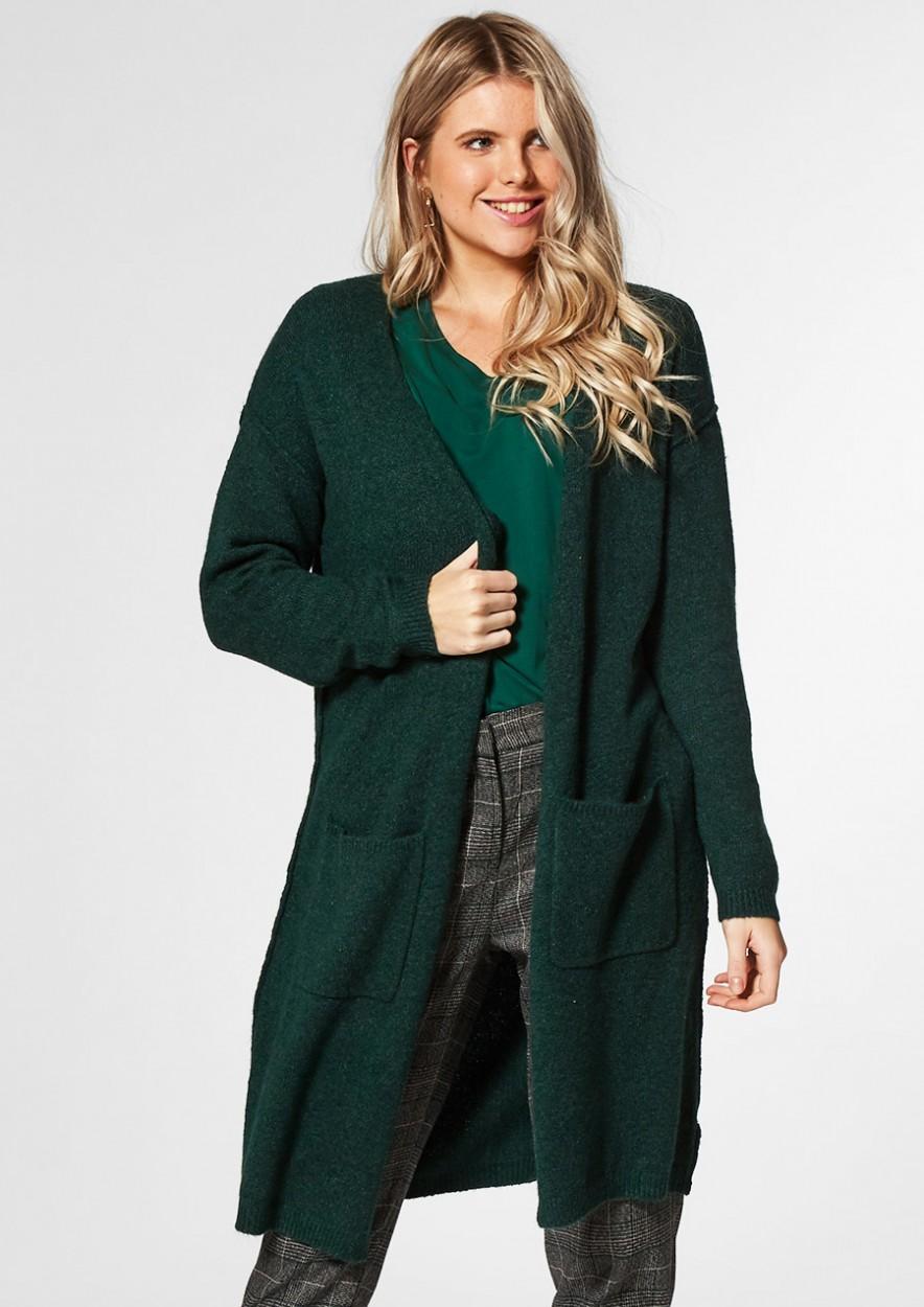 NOWY Cardigan Emerald Green