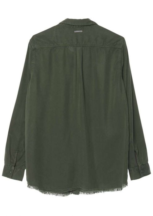 Juny Blouse Dark Army