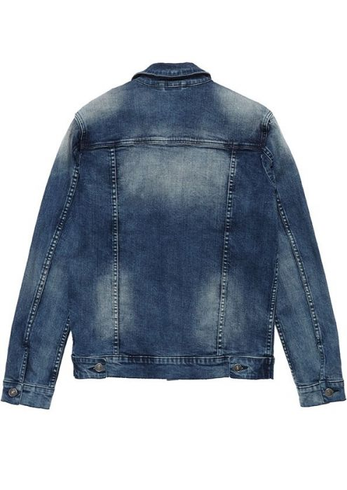 Idol Denim Jacket Artistic Blue