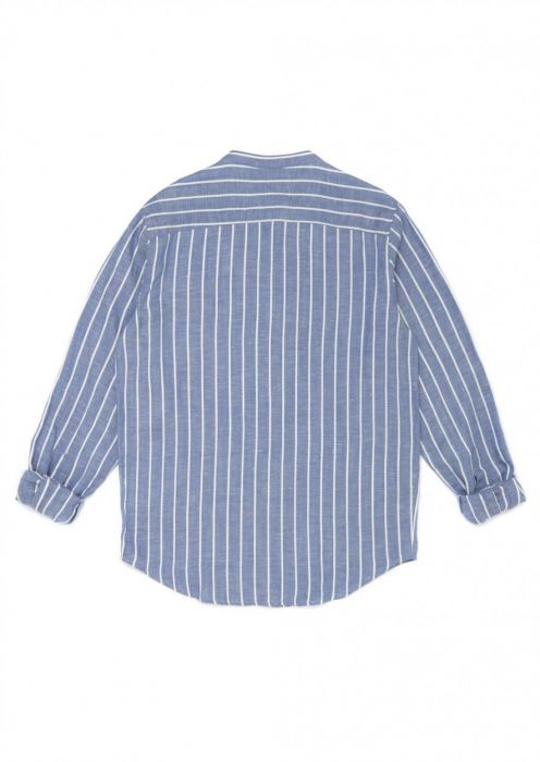 Julian Shirt Wave Blue