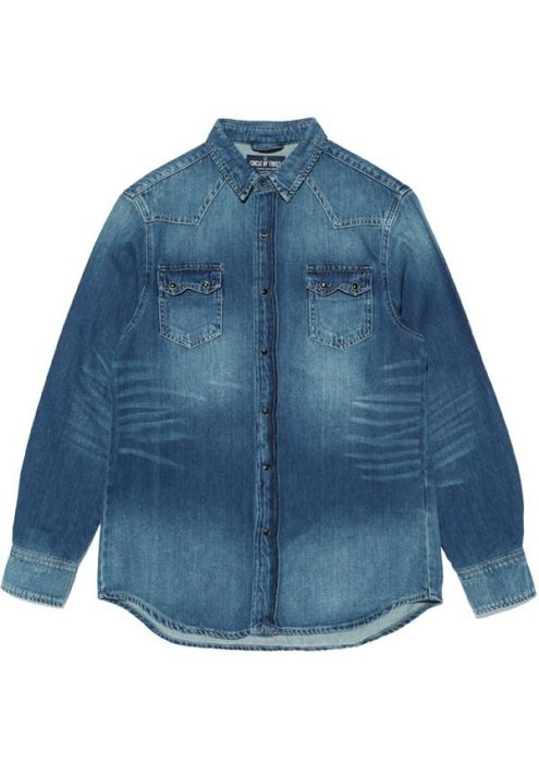 Dylan Shirt Denim Sandstorm Wash
