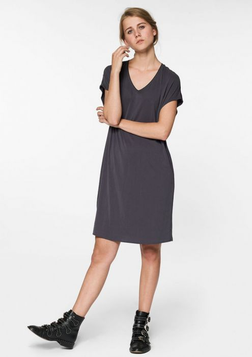 Juda Dress Dark Asphalt
