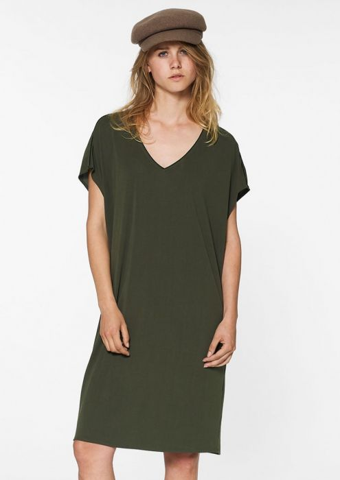 Juda Dress Dark Army
