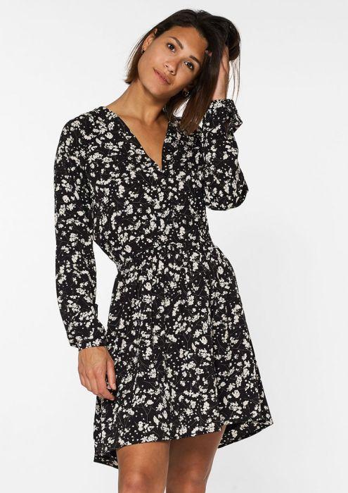Kira Dress Black Floral