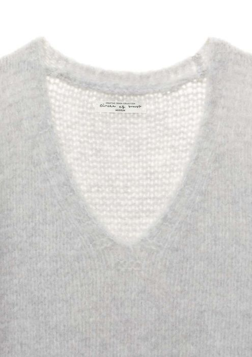 Cruz jumper Light Grey Melange