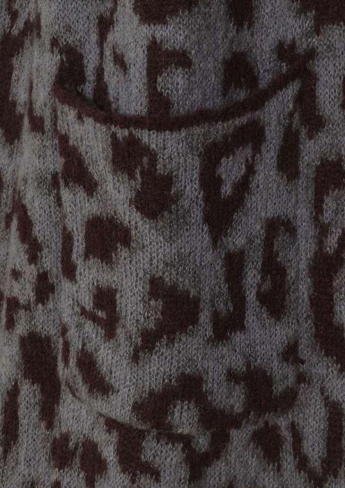 Haisley Cardigan Asphalt Grey