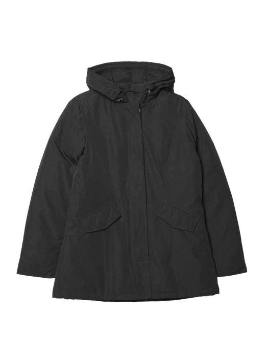 Alaska Jacket No Fur Jet Black