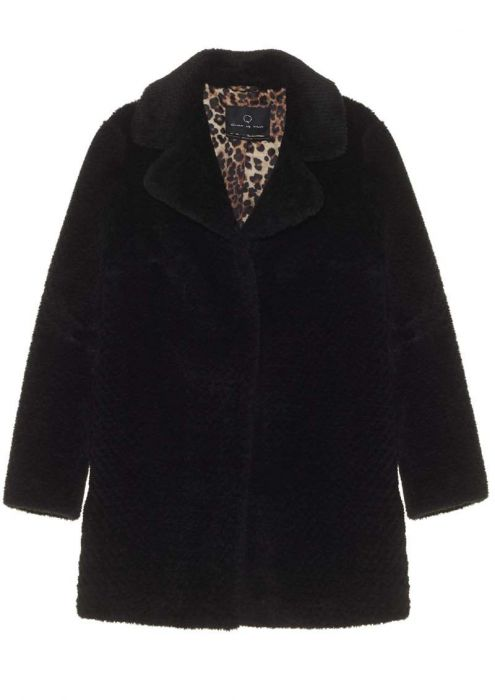 Chrissi Coat Jet Black